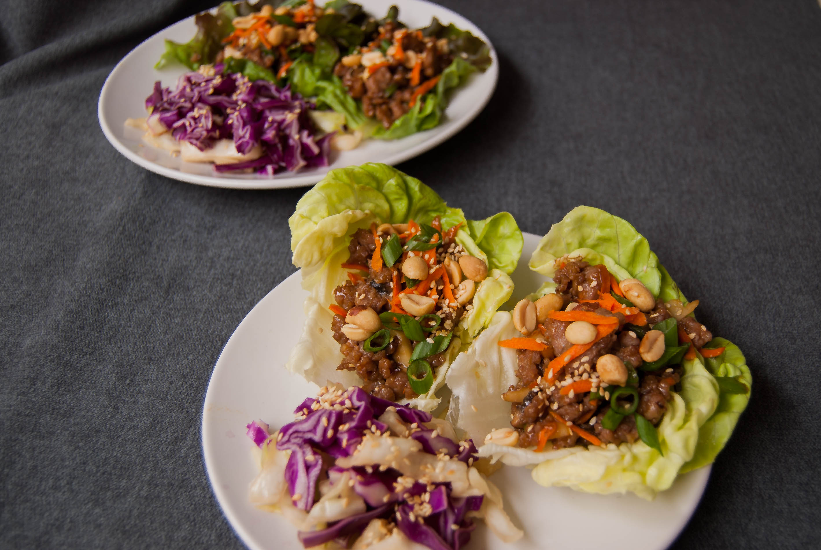 Pork Lettuce Wraps $13